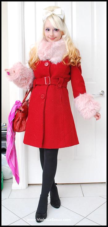 DIY Faux Fur Trim For Your Jacket