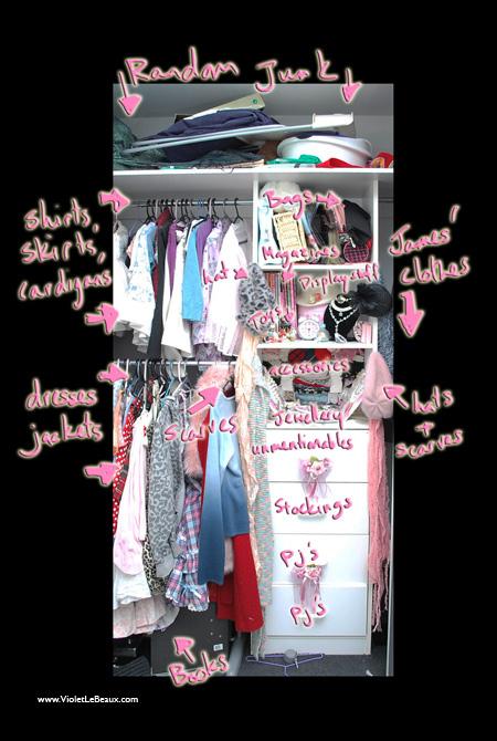 Violet's Wardrobe Storage Ideas