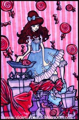 Art Friday! Lolita Art Style