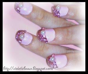 Nail Art Style- Pink Princess