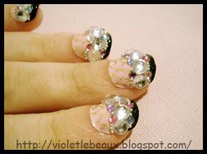 Latest nail art style!