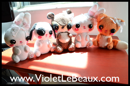 New Cute Animal Plushies Crafting