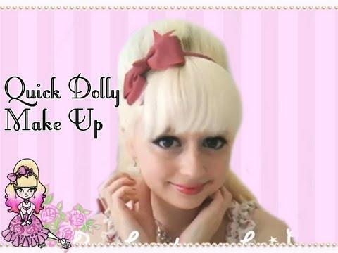 Dolly Eye Make Up Tutorial – Violet Vision