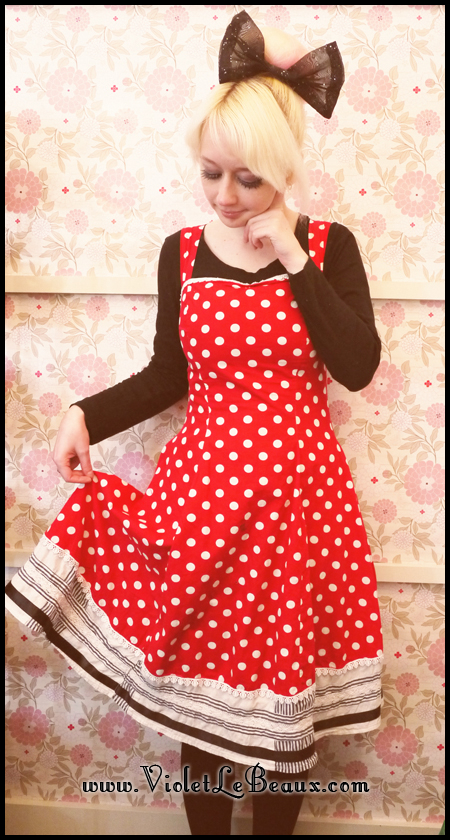 Outfit Of The Day- Minnie Mouse Style