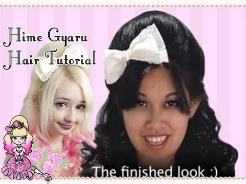 Medium Length Hime Gyaru Hairstyle Tutorial with Celeste Video