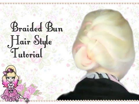 Classic Braid Bun Hairstyle Tutorial