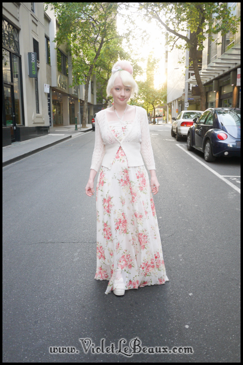 Maximum Floral Chiffon – Outfit Of The Day