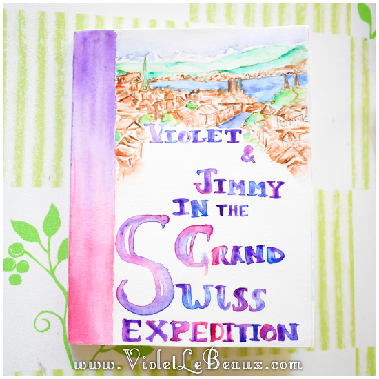 Violet's Watercolour Travel Diary