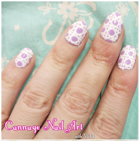 How To Do Dior Cannage Nail Art
