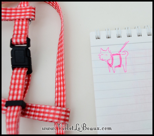 How To Pretty Up A Puppy Harness