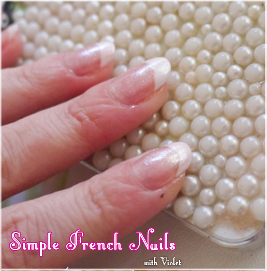 How To Do Easy French Nails