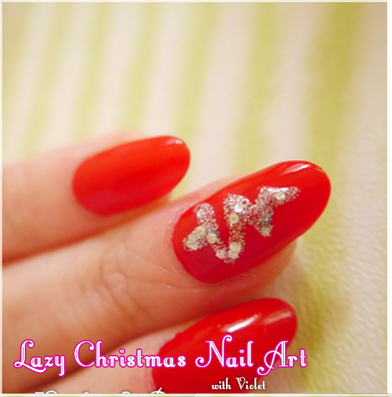 Christmas Nail Art Tutorial Gingerbread Galore: How To Do Christmas Tree Nail Art- Tutorial