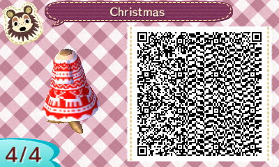 Animal Crossing Holiday Dress QR – ACNL